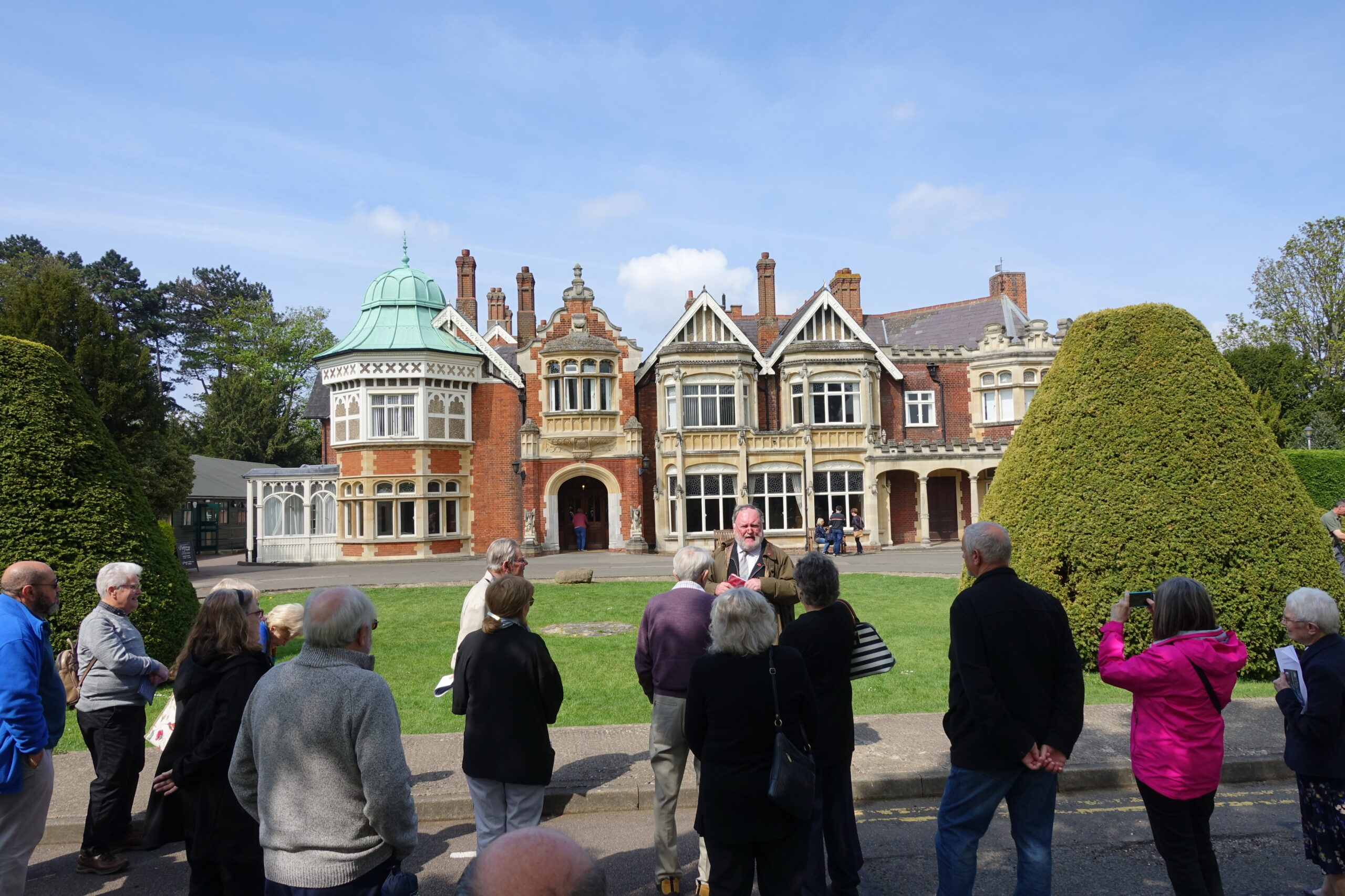 AGTO - Eastern Branch visit Bletchley Park