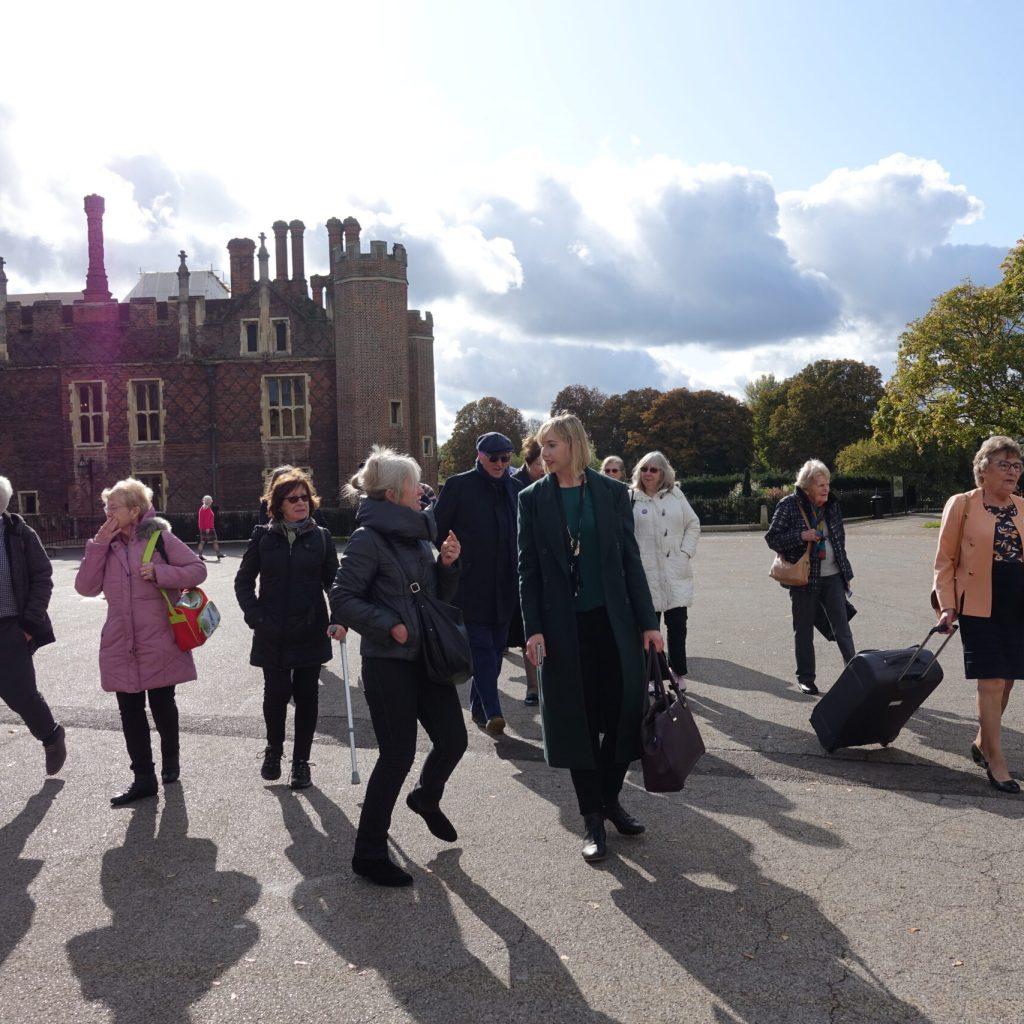 AGTO - Eastern Branch Visit Hampton Court