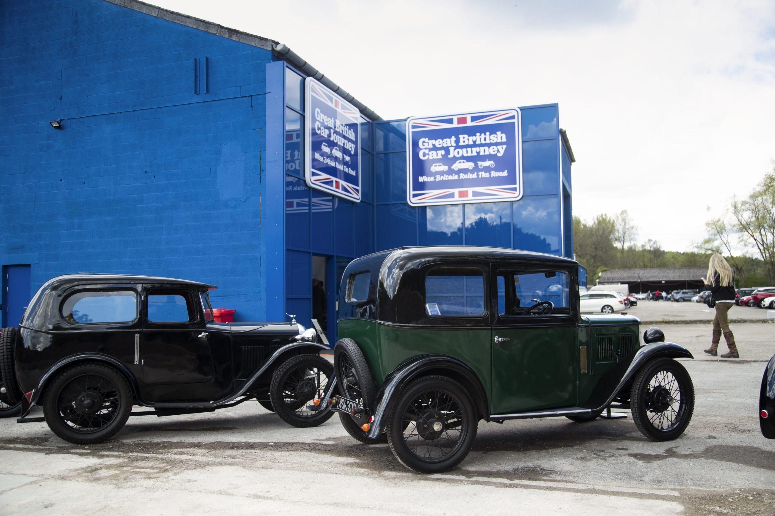 Great British Car Journey Motors Into Derbyshire